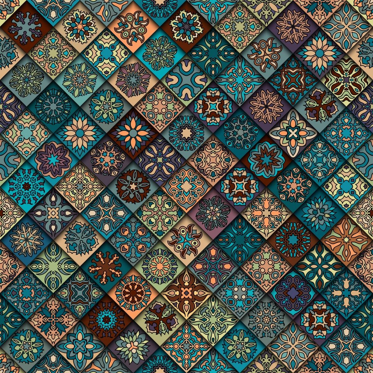 O quebra-cabeça Recolher o quebra-cabeças on-line - Diagonal tile