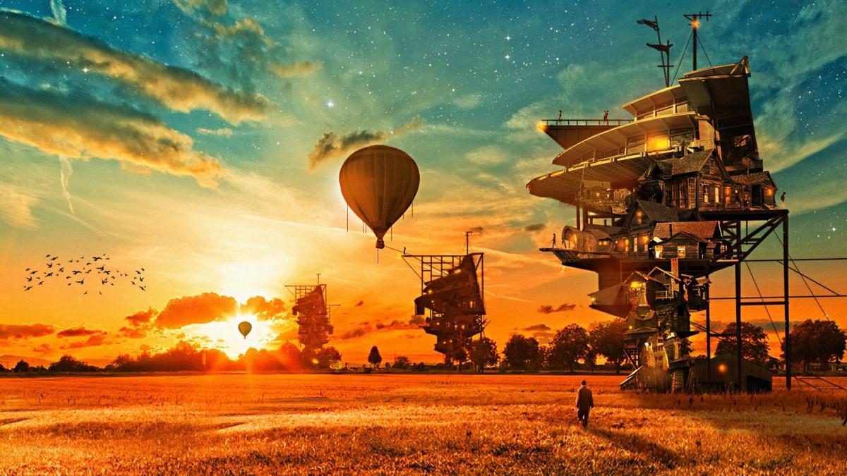 O quebra-cabeça Recolher o quebra-cabeças on-line - Fantastic sunset