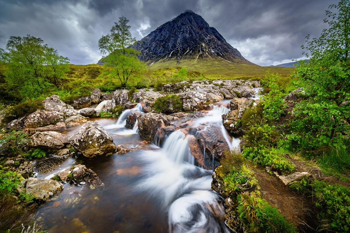 O quebra-cabeça Recolher o quebra-cabeças on-line - Mountain in Scotland