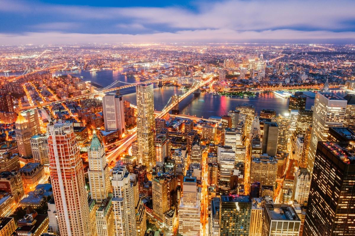 O quebra-cabeça Recolher o quebra-cabeças on-line - City lights