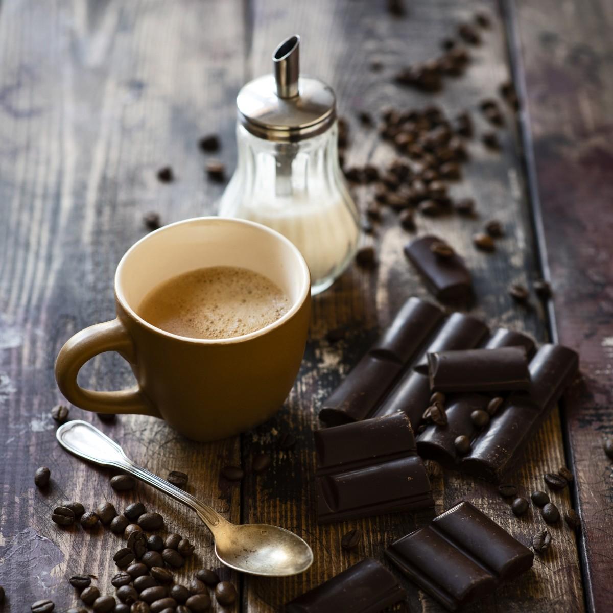 O quebra-cabeça Recolher o quebra-cabeças on-line - Coffee and chocolate