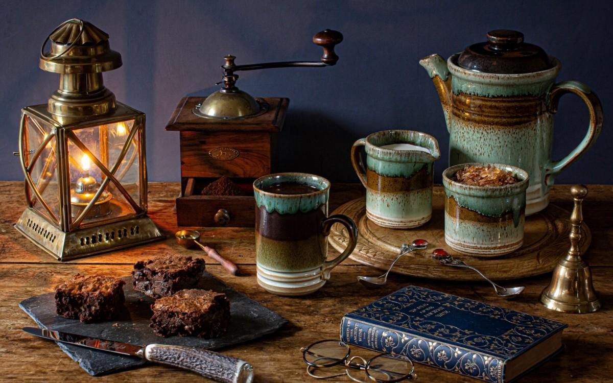 O quebra-cabeça Recolher o quebra-cabeças on-line - Coffee still life