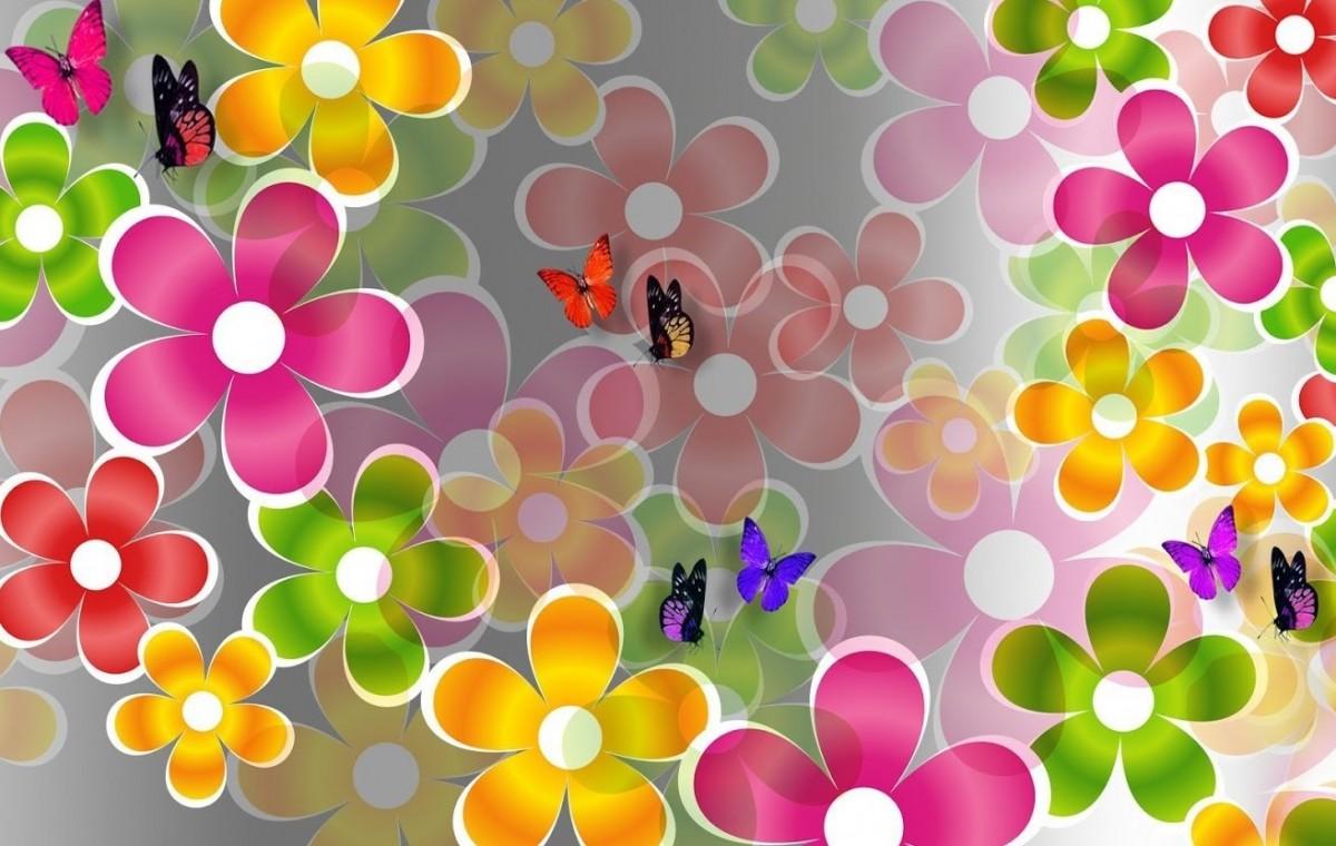 O quebra-cabeça Recolher o quebra-cabeças on-line - Collage with flowers