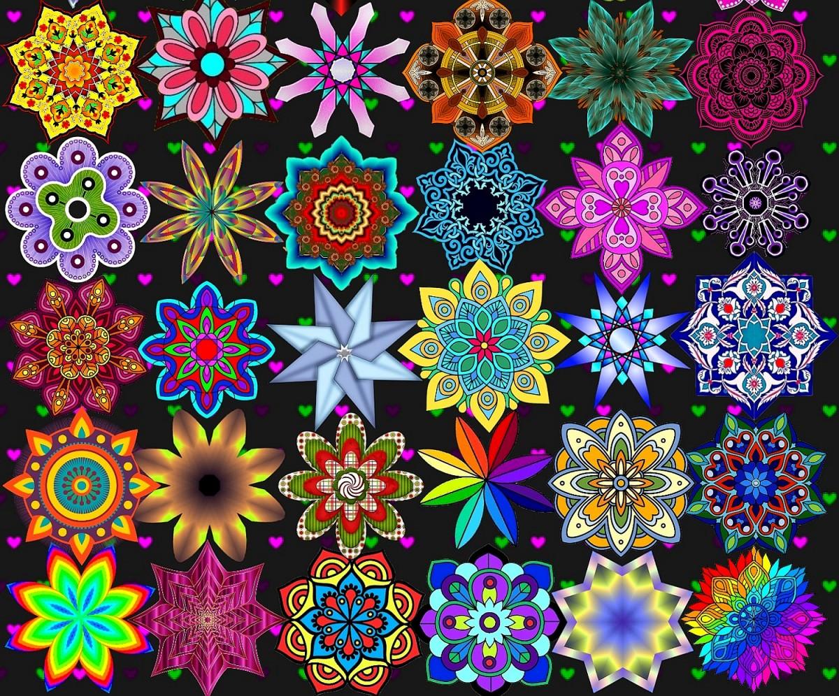 O quebra-cabeça Recolher o quebra-cabeças on-line - Mandala