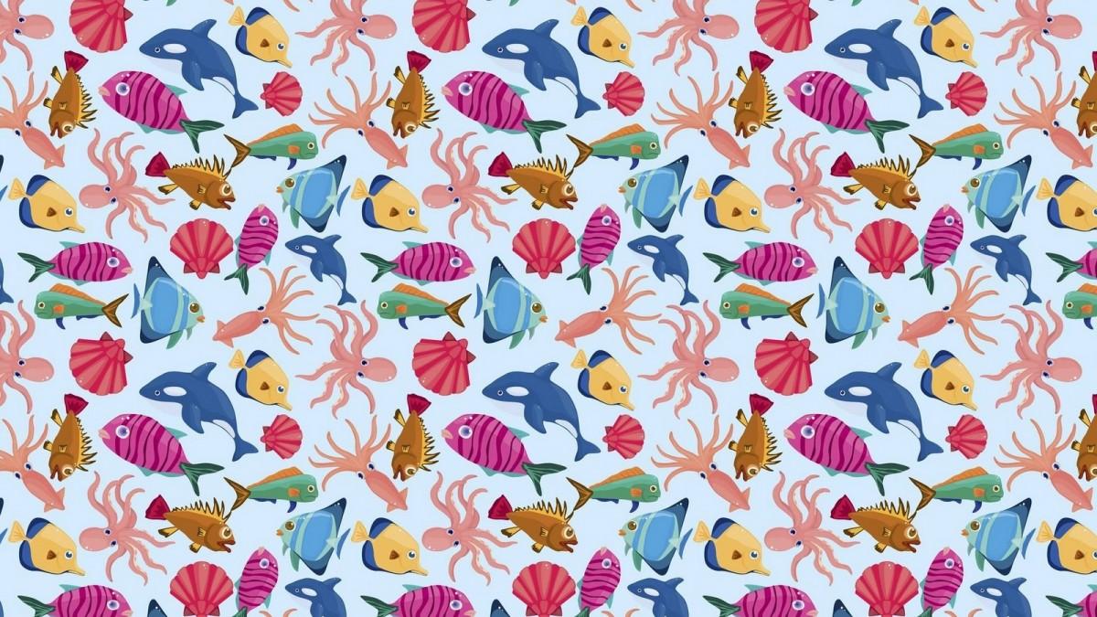 O quebra-cabeça Recolher o quebra-cabeças on-line - A lot of fish