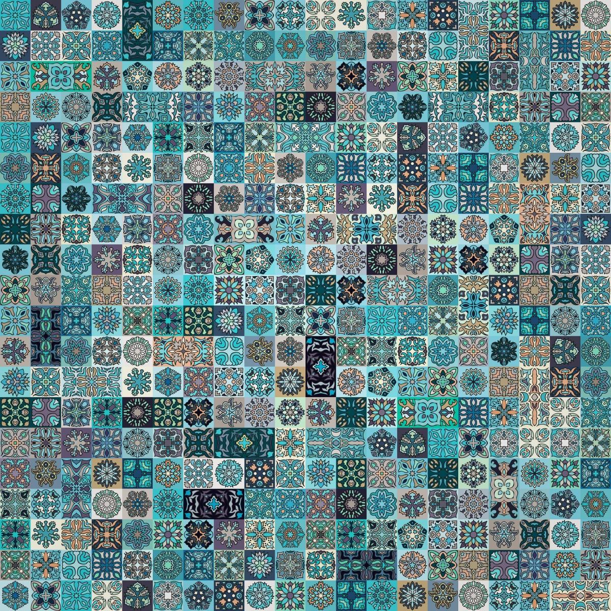 O quebra-cabeça Recolher o quebra-cabeças on-line - A lot of squares