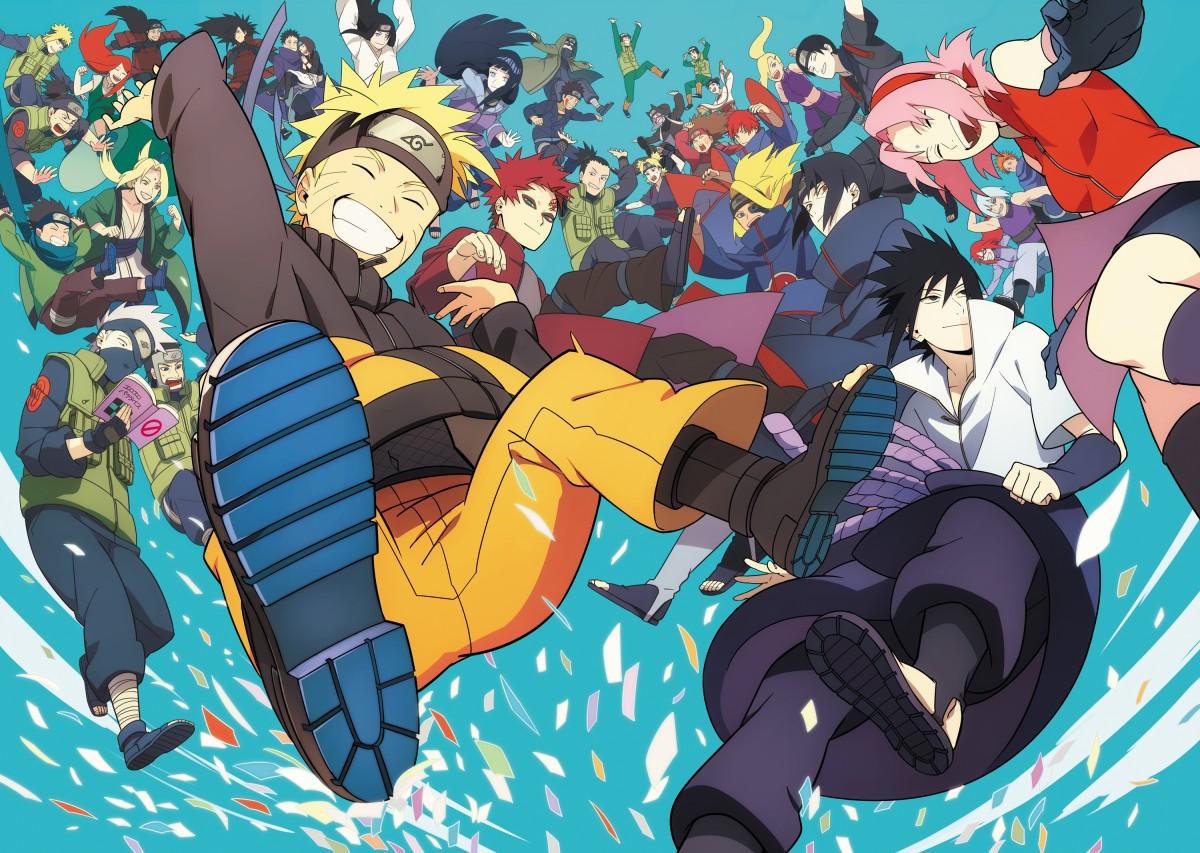 O quebra-cabeça Recolher o quebra-cabeças on-line - Naruto