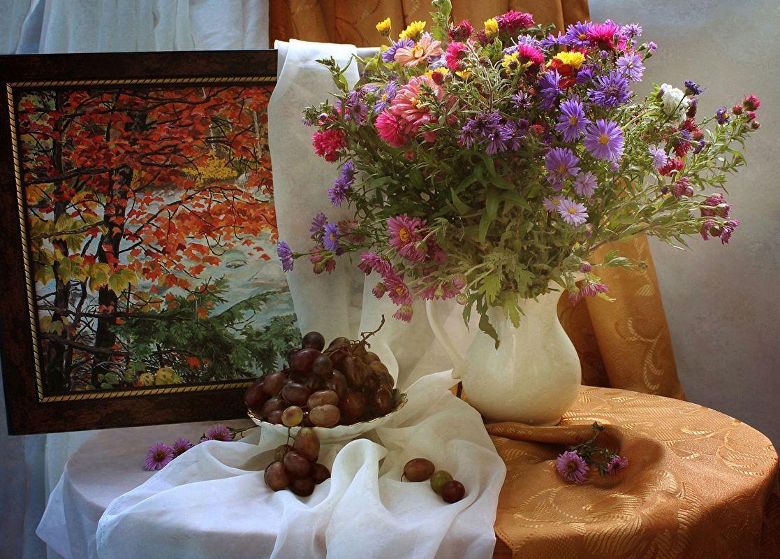O quebra-cabeça Recolher o quebra-cabeças on-line - Still Life Autumn