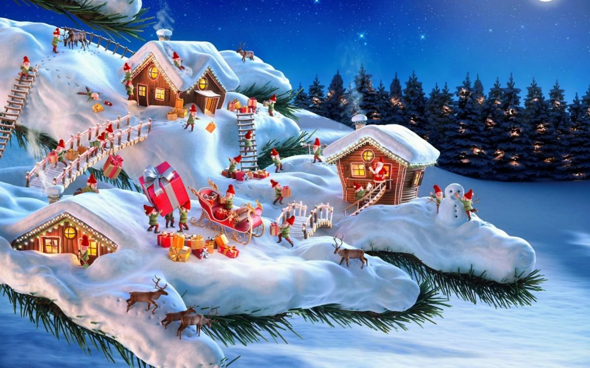 O quebra-cabeça Recolher o quebra-cabeças on-line - Christmas gnomes