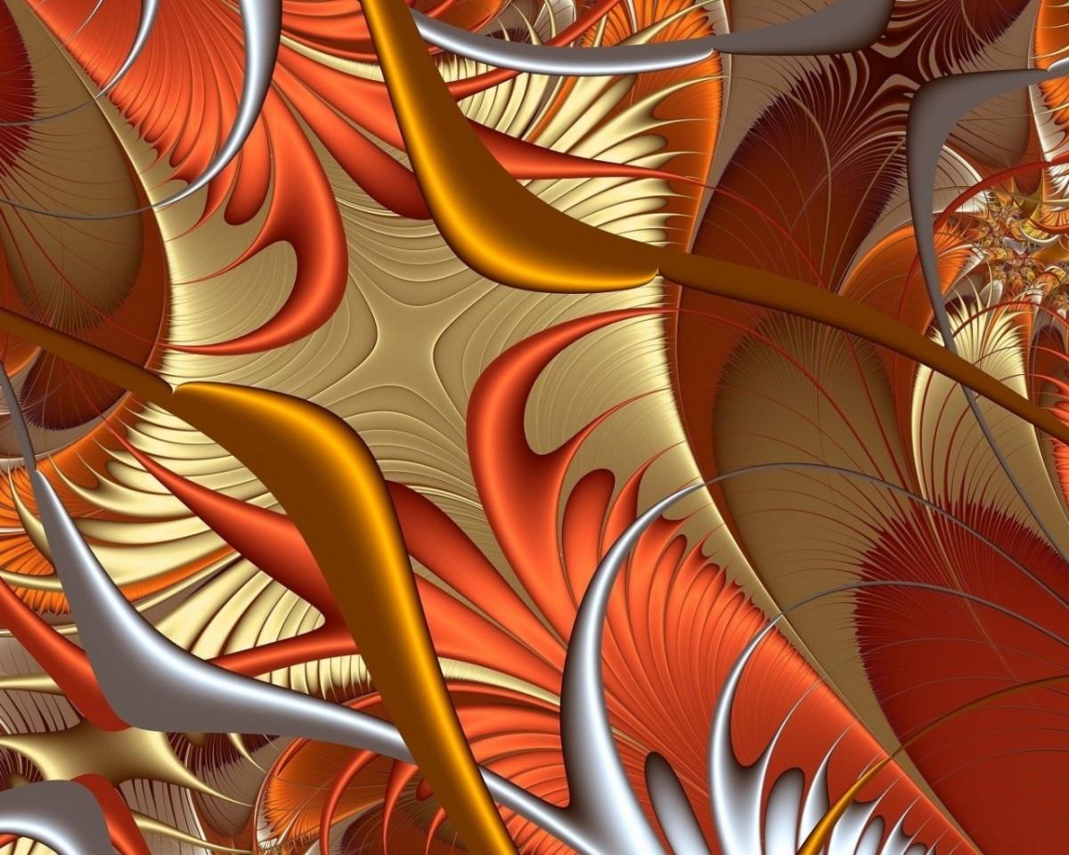 O quebra-cabeça Recolher o quebra-cabeças on-line - Orange feathers