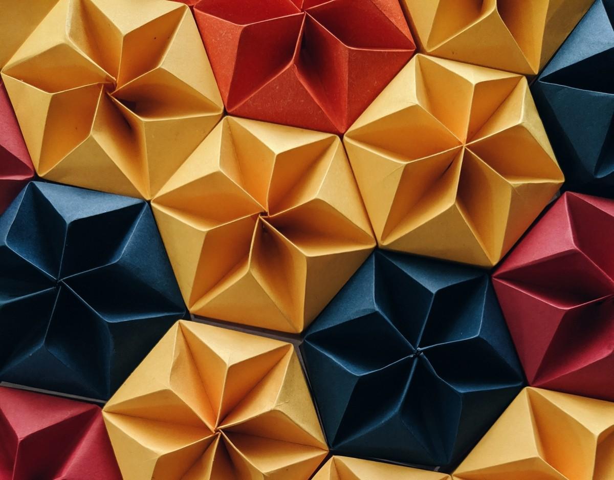 O quebra-cabeça Recolher o quebra-cabeças on-line - Origami