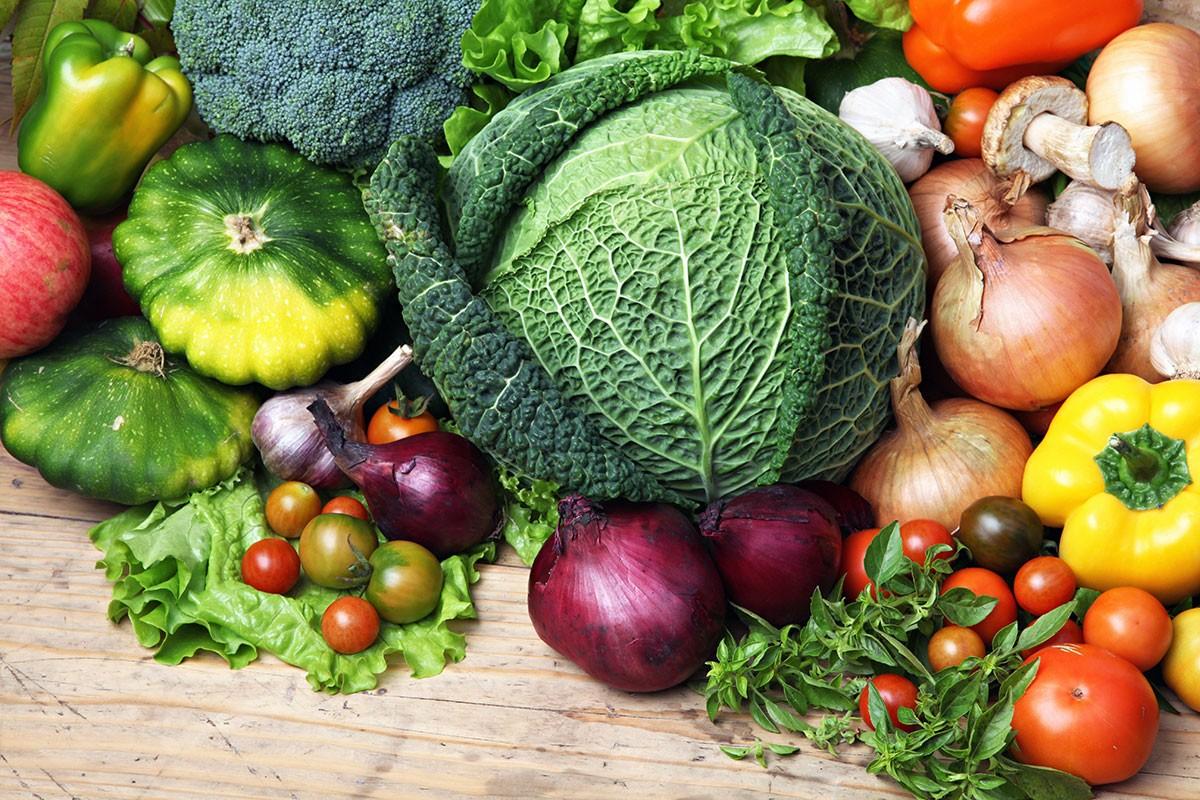 O quebra-cabeça Recolher o quebra-cabeças on-line - Vegetables