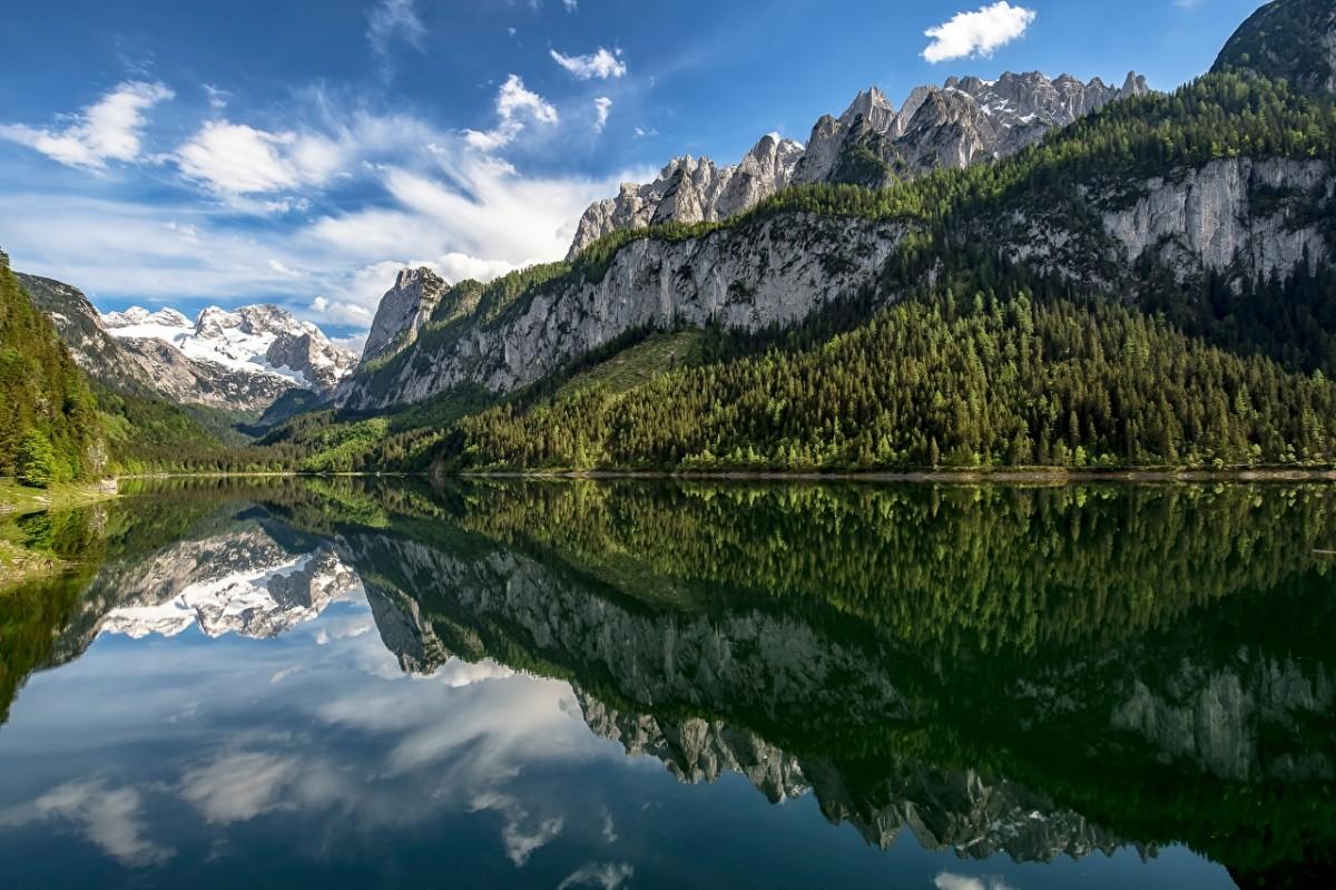 O quebra-cabeça Recolher o quebra-cabeças on-line - The lake in Austria