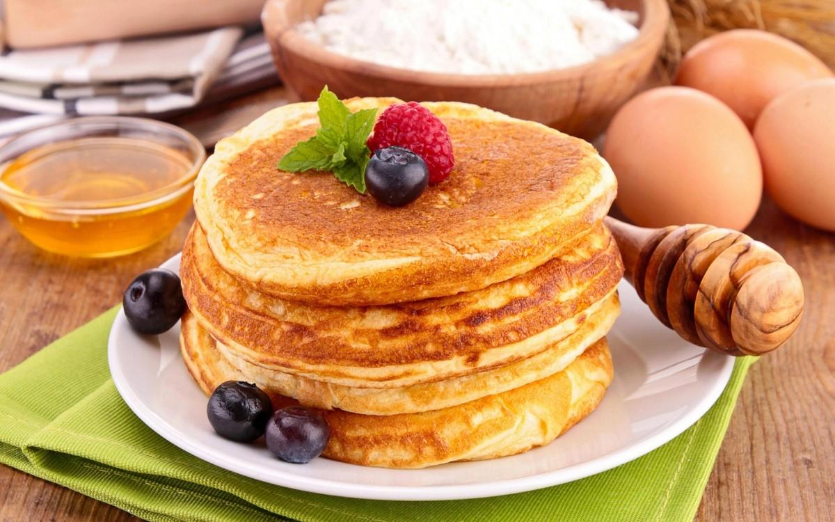 O quebra-cabeça Recolher o quebra-cabeças on-line - Fluffy pancakes