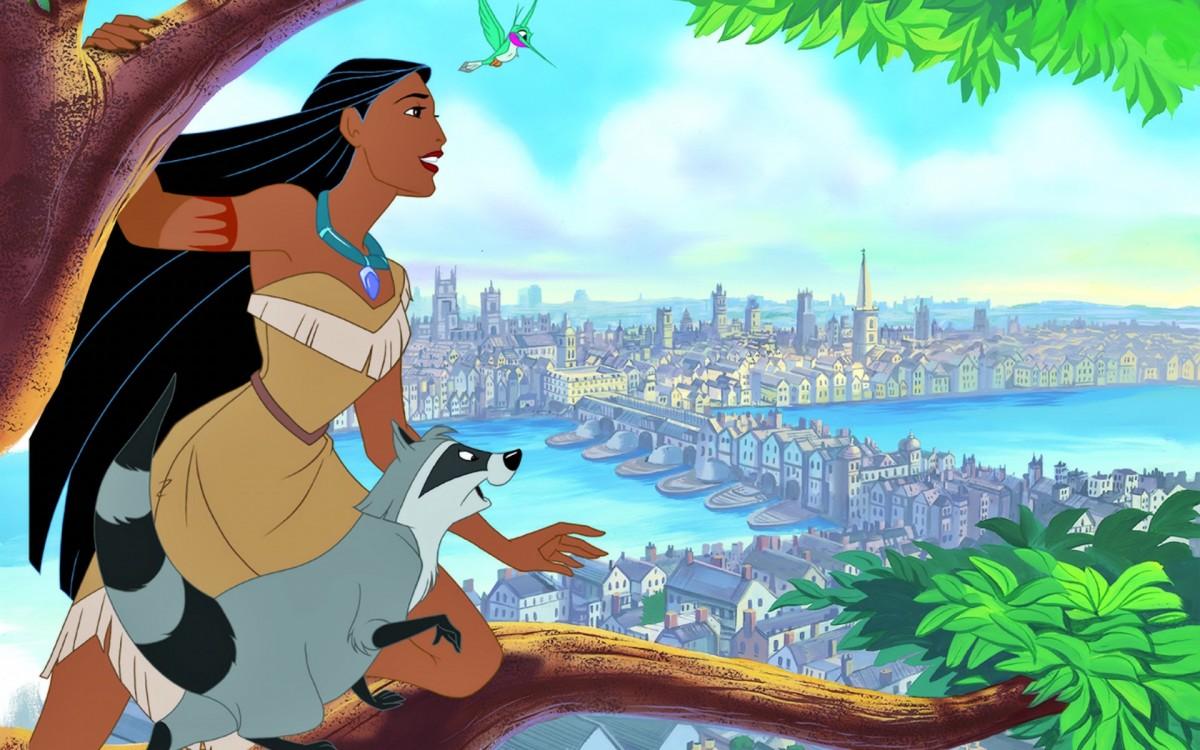 O quebra-cabeça Recolher o quebra-cabeças on-line - Pocahontas
