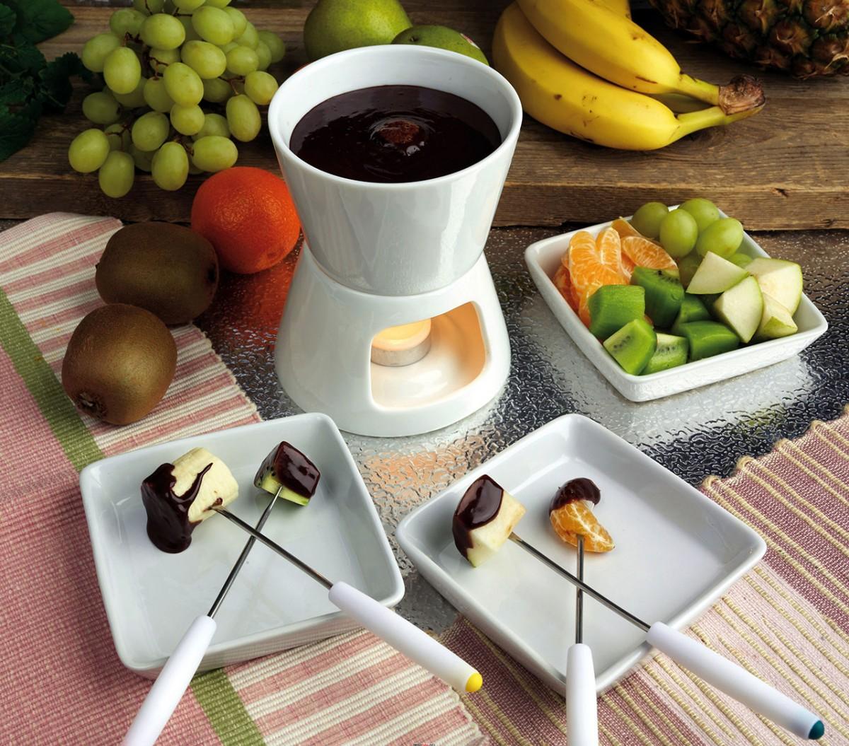 O quebra-cabeça Recolher o quebra-cabeças on-line - An invitation to a fondue