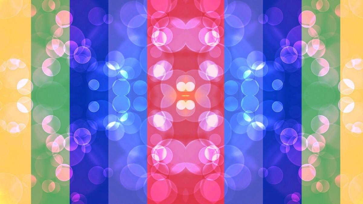 O quebra-cabeça Recolher o quebra-cabeças on-line - Rainbow symmetry