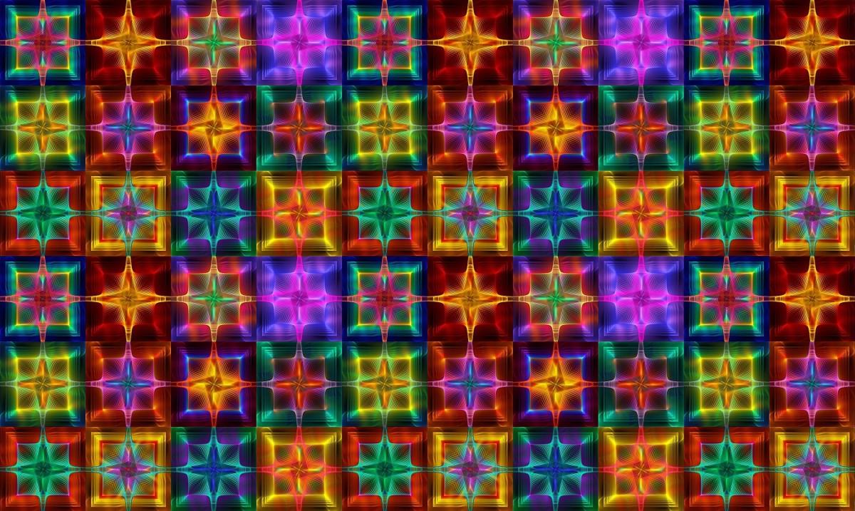 O quebra-cabeça Recolher o quebra-cabeças on-line - Colorful cubes