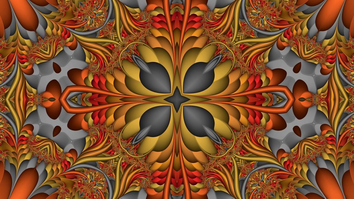 O quebra-cabeça Recolher o quebra-cabeças on-line - Symmetrical pattern