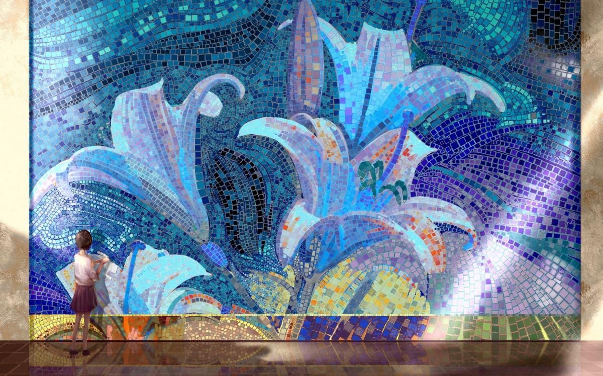 O quebra-cabeça Recolher o quebra-cabeças on-line - Folding mosaic