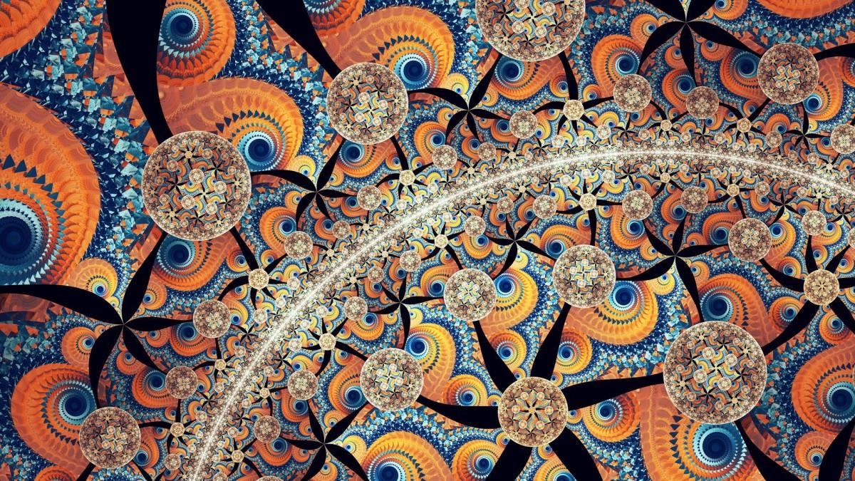 O quebra-cabeça Recolher o quebra-cabeças on-line - Spiral and arc