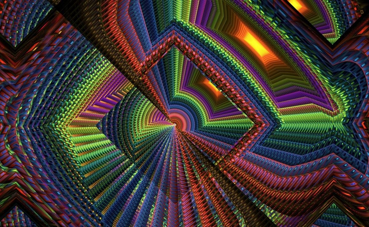 O quebra-cabeça Recolher o quebra-cabeças on-line - Glass abyss