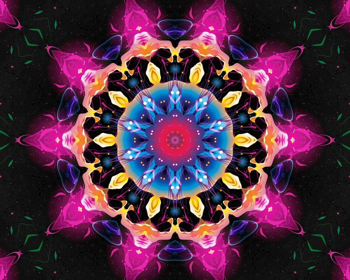 O quebra-cabeça Recolher o quebra-cabeças on-line - Sparkling fractal