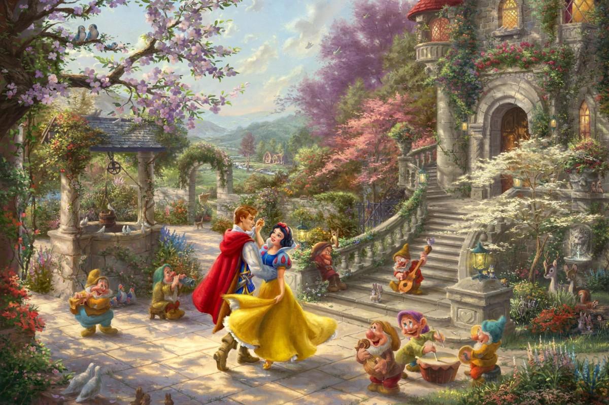 O quebra-cabeça Recolher o quebra-cabeças on-line - The Dance Of Snow White