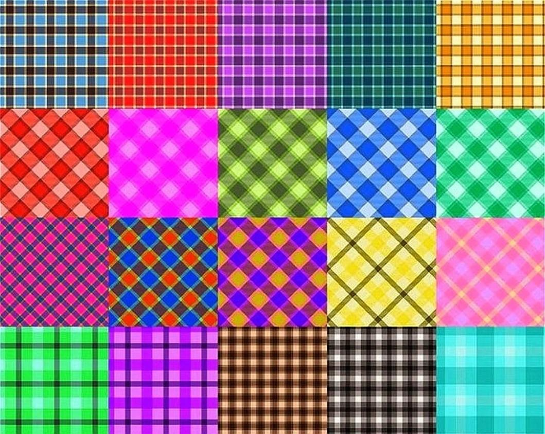 O quebra-cabeça Recolher o quebra-cabeças on-line - Fabric collage