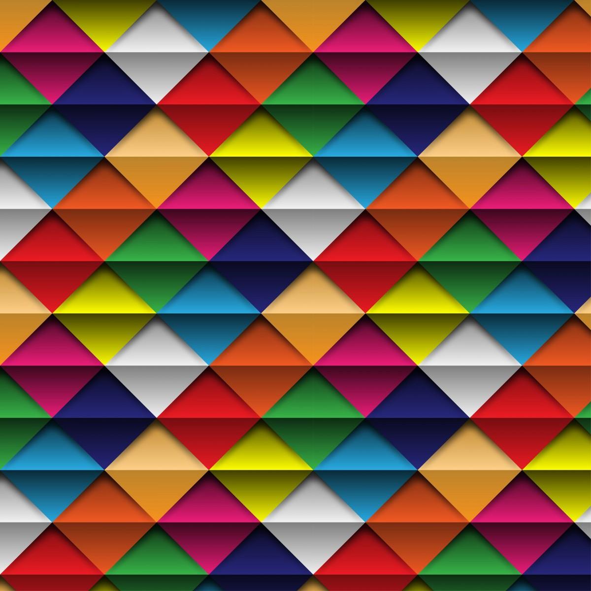 O quebra-cabeça Recolher o quebra-cabeças on-line - Triangles and strips