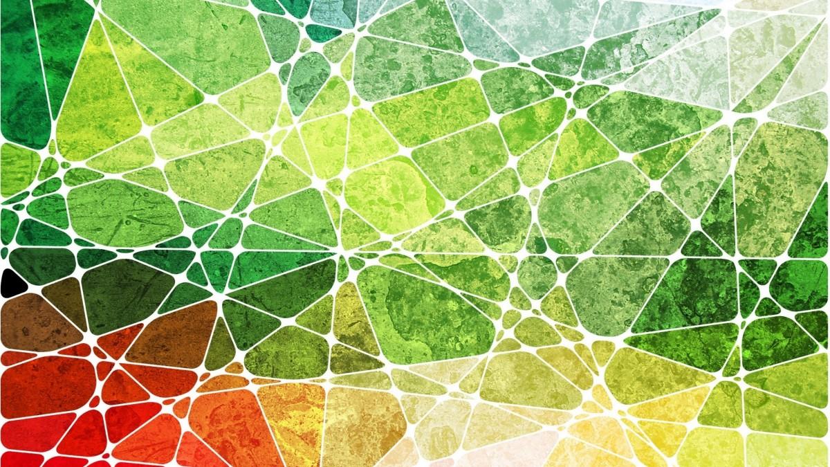 O quebra-cabeça Recolher o quebra-cabeças on-line - Color geometry