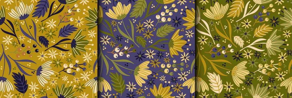 O quebra-cabeça Recolher o quebra-cabeças on-line - Floral panel
