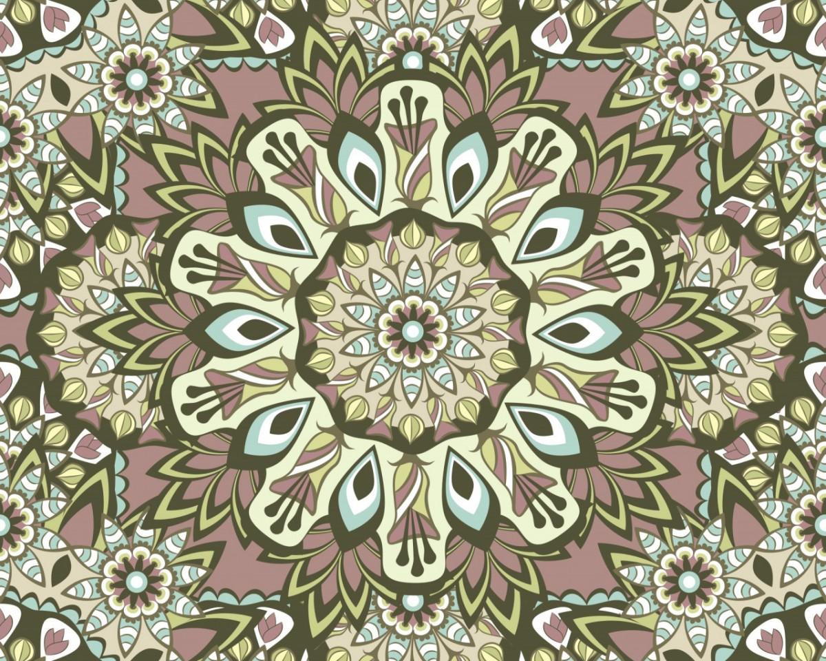 O quebra-cabeça Recolher o quebra-cabeças on-line - Floral ornament