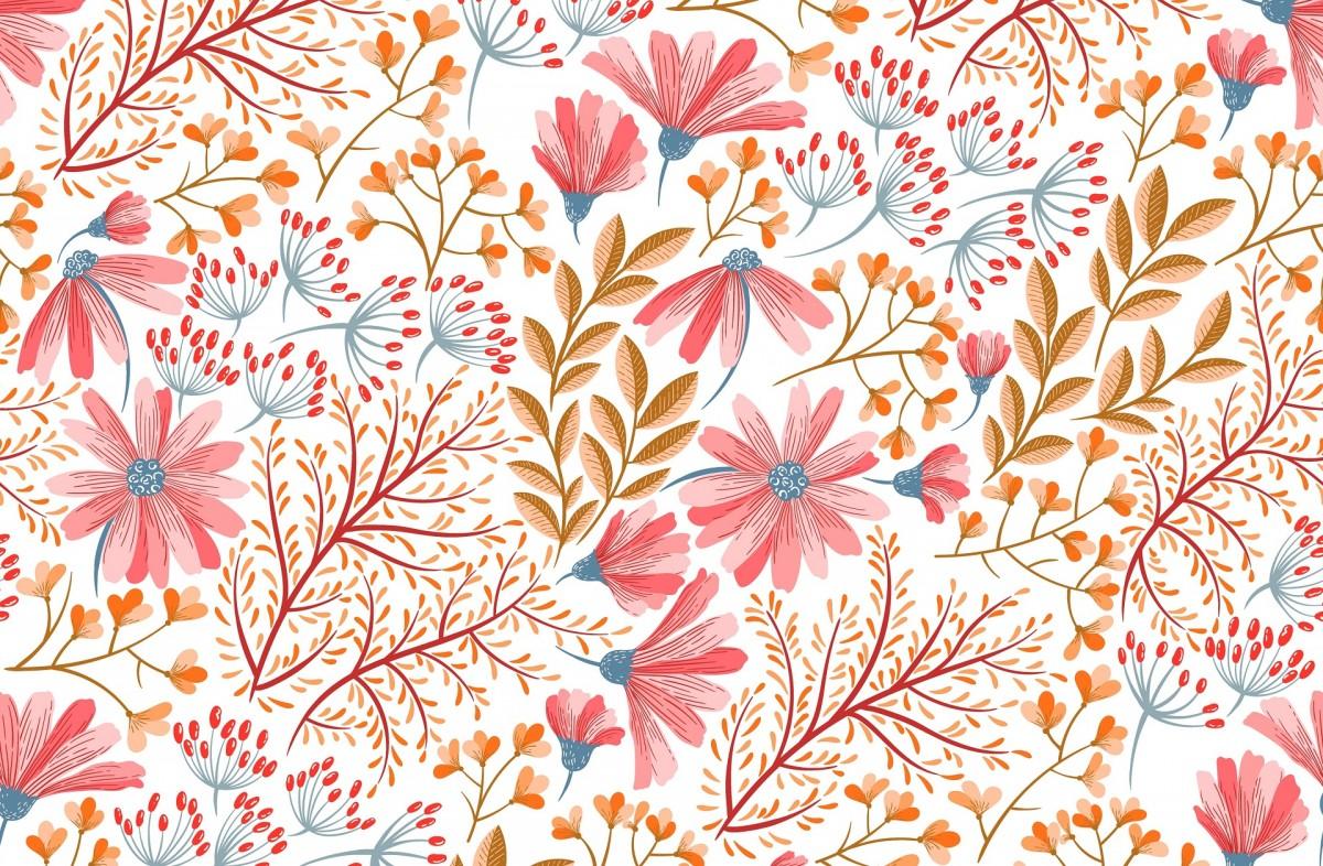 O quebra-cabeça Recolher o quebra-cabeças on-line - The pattern of flowers