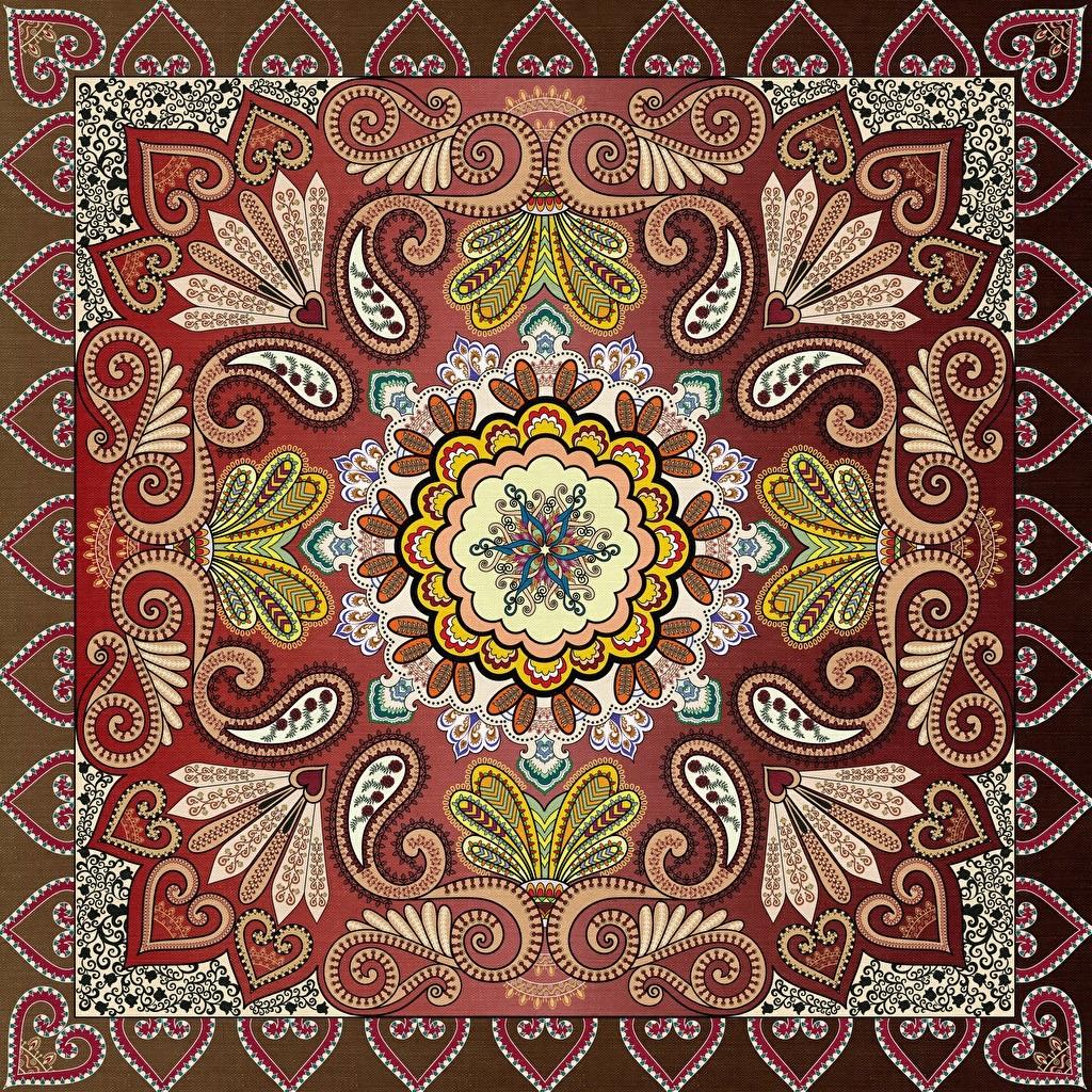 O quebra-cabeça Recolher o quebra-cabeças on-line - Patterned scarf