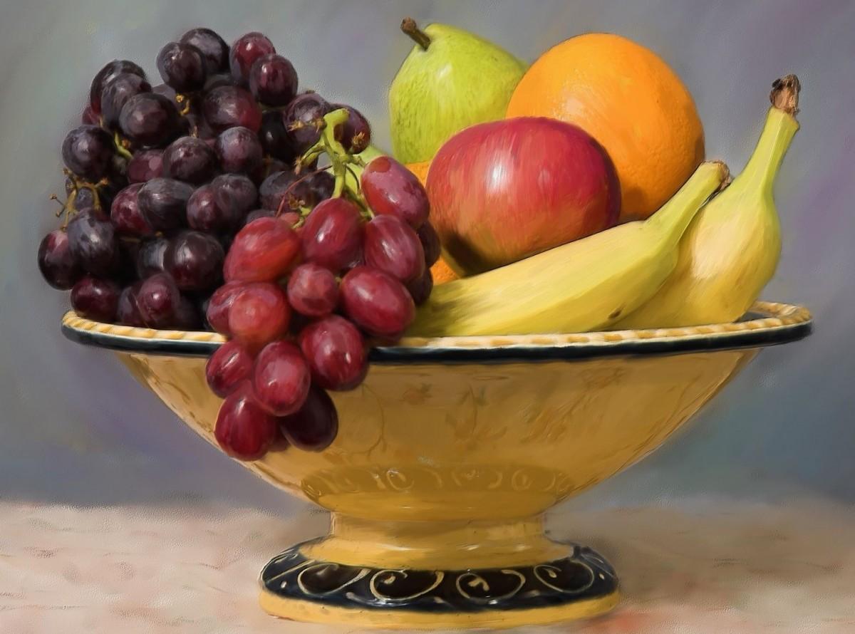 O quebra-cabeça Recolher o quebra-cabeças on-line - Fruit bowl