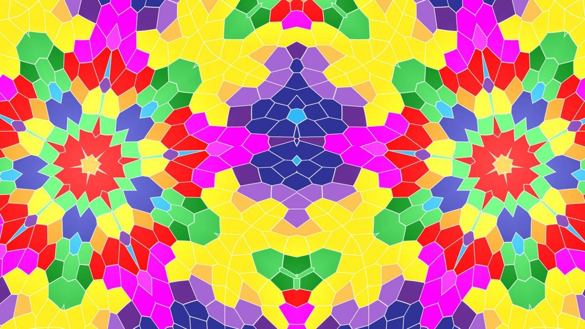 O quebra-cabeça Recolher o quebra-cabeças on-line - Cellular kaleidoscope