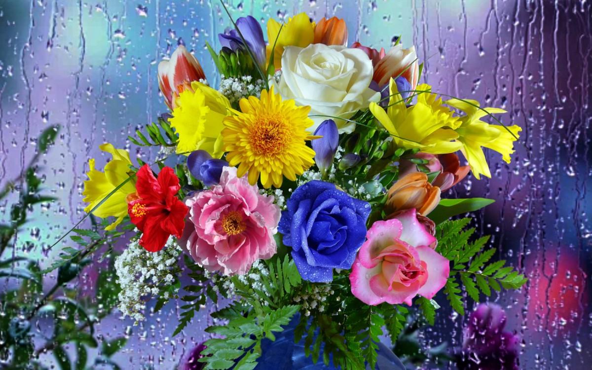 O quebra-cabeça Recolher o quebra-cabeças on-line - Bright bouquet