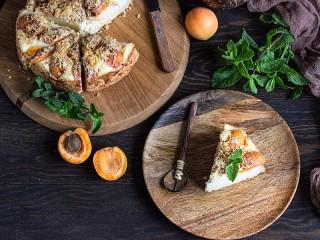 Собирать пазл Apricot Cheesecake онлайн