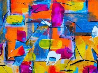 Собирать пазл Abstract painting онлайн