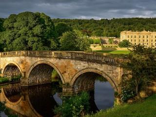 Собирать пазл English bridge онлайн