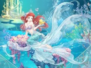 Собирать пазл Ariel anime style онлайн