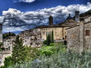 Собирать пазл assizi italiya онлайн