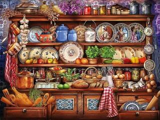 Собирать пазл Grandma's pantry онлайн