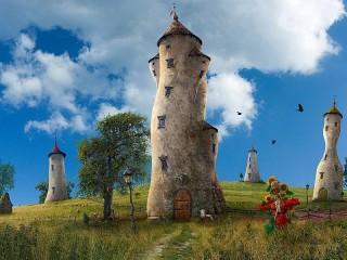 Собирать пазл Tower онлайн