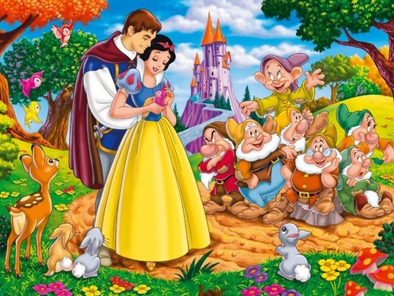 O quebra-cabeça Recolher o quebra-cabeças on-line - Snow White