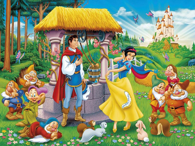O quebra-cabeça Recolher o quebra-cabeças on-line - Belosnezhka u kolodtsa