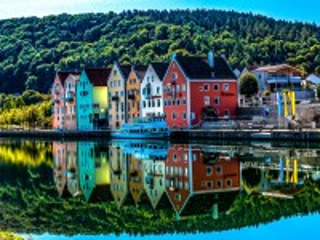 Собирать пазл Bergen Norway онлайн