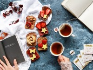 Собирать пазл Dessert sandwiches онлайн