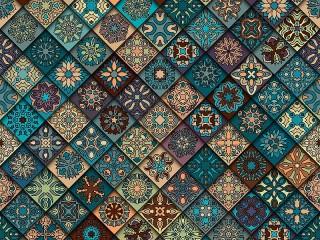 Собирать пазл Diagonal tile онлайн